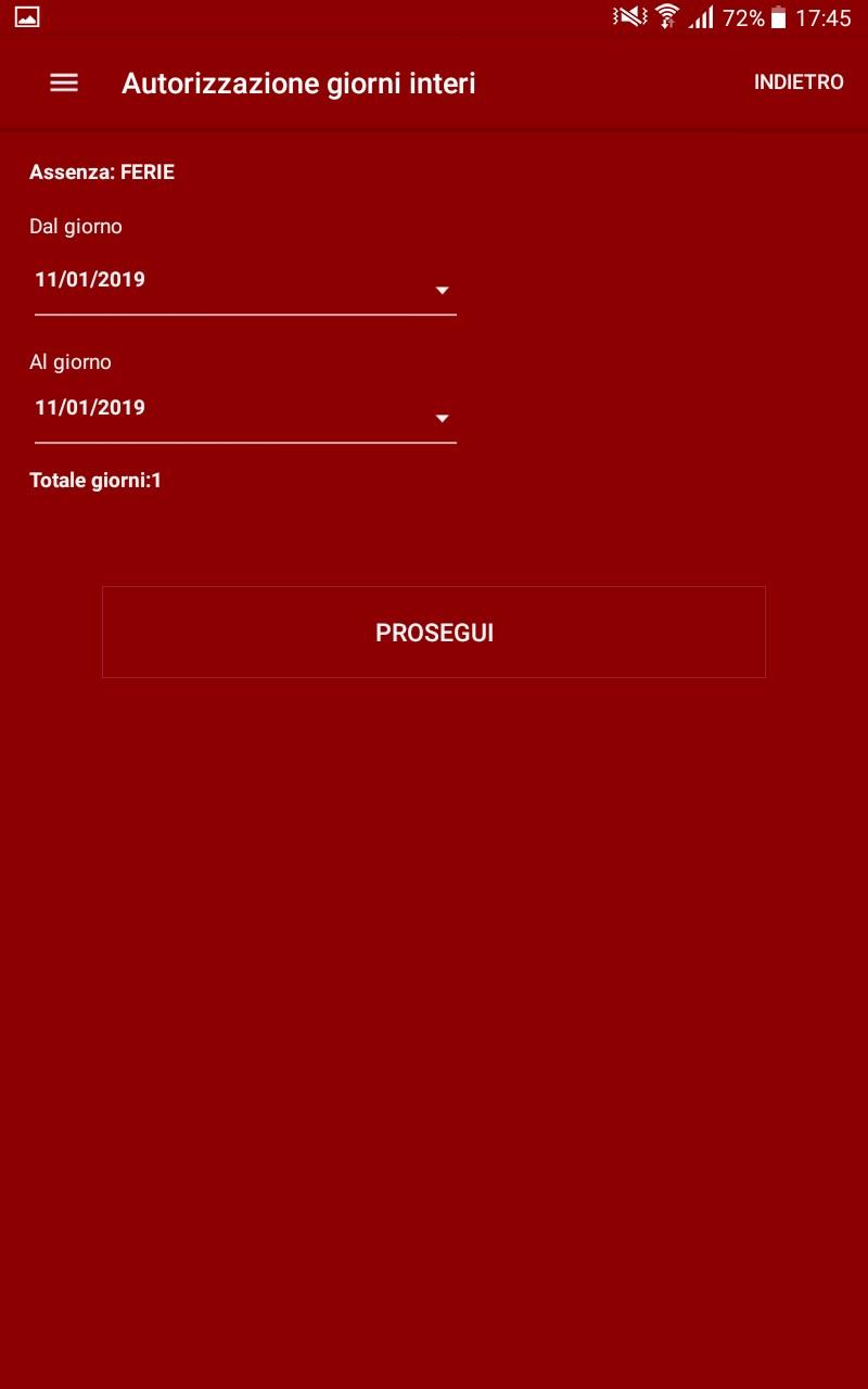 Autorizzazioni App Keros